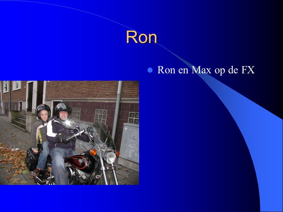 Ron Ron en Max op de FX