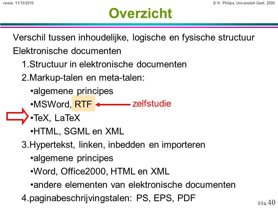 Elektronische documenten Open markup-talen
