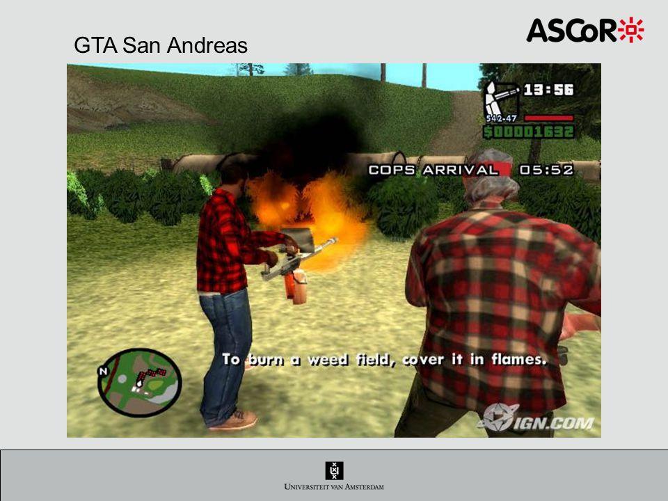 Heeft het game geweld effect op de speler.