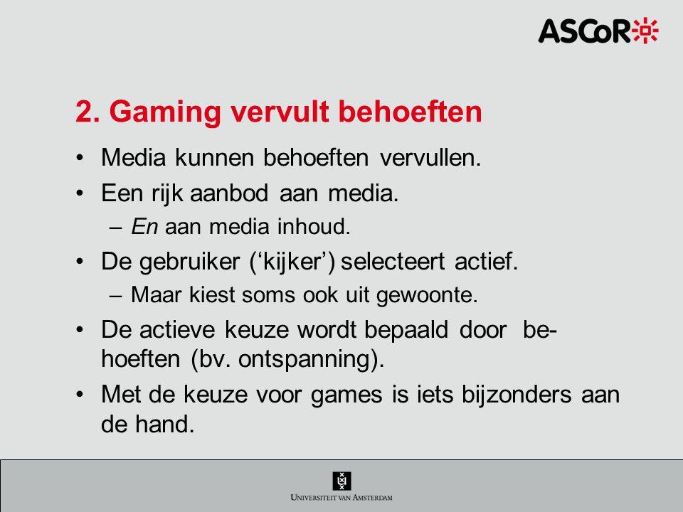 Verslaving, de 6 criteria 1.Dominantie Gamen als belangrijkste activiteit.