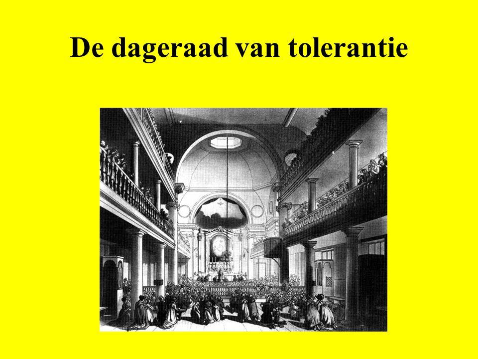 Tolerantie - Motivaties: Pragmatisch of intellectueel.