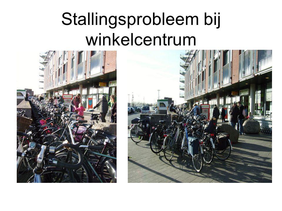 Stallingsprobleem bij winkelcentrum