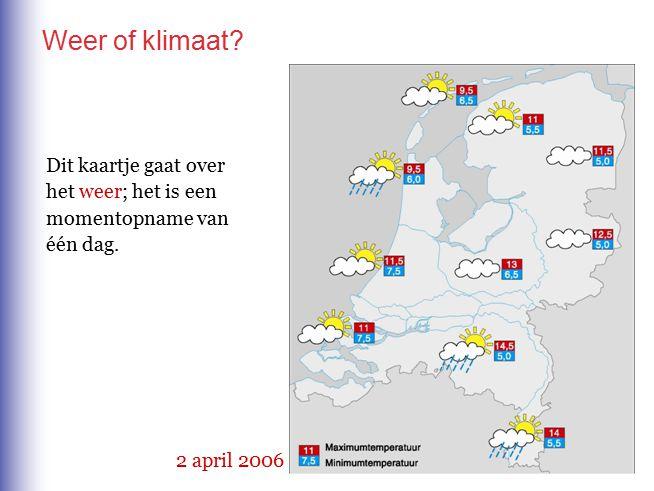 Klimaatverschillen binnen Nederland Nederland is klein en toch merken we dat… 1 Je meestal het eerst kunt schaatsen in… 2 Je meestal het eerst op een terrasje kunt zitten in… 3 De meeste neerslag valt in… 4 Het verschil tussen zomer en winter- tempertuur het kleinst is in… A B D C