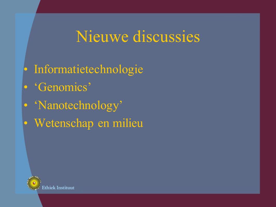 Contexten Implicaties moeilijk te voorspellen Technologie en leefwereld Generische technologieën Context: Globalisering i.p.v.
