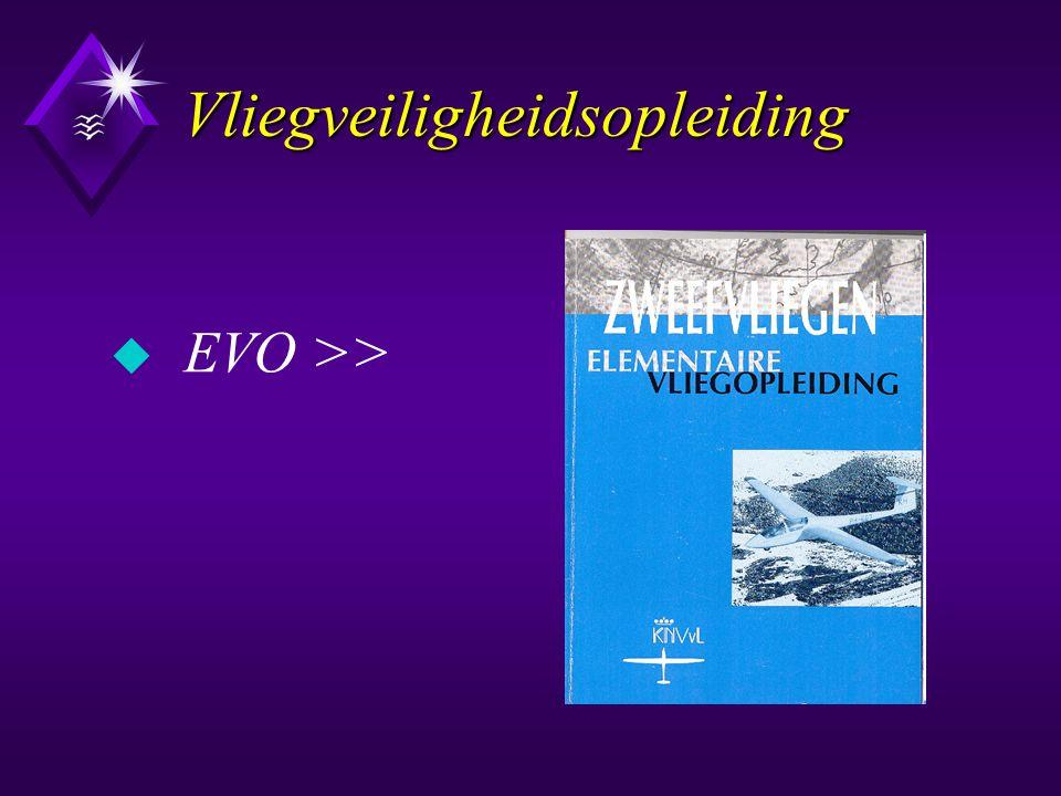 Vliegveiligheidsopleiding u EVO >>