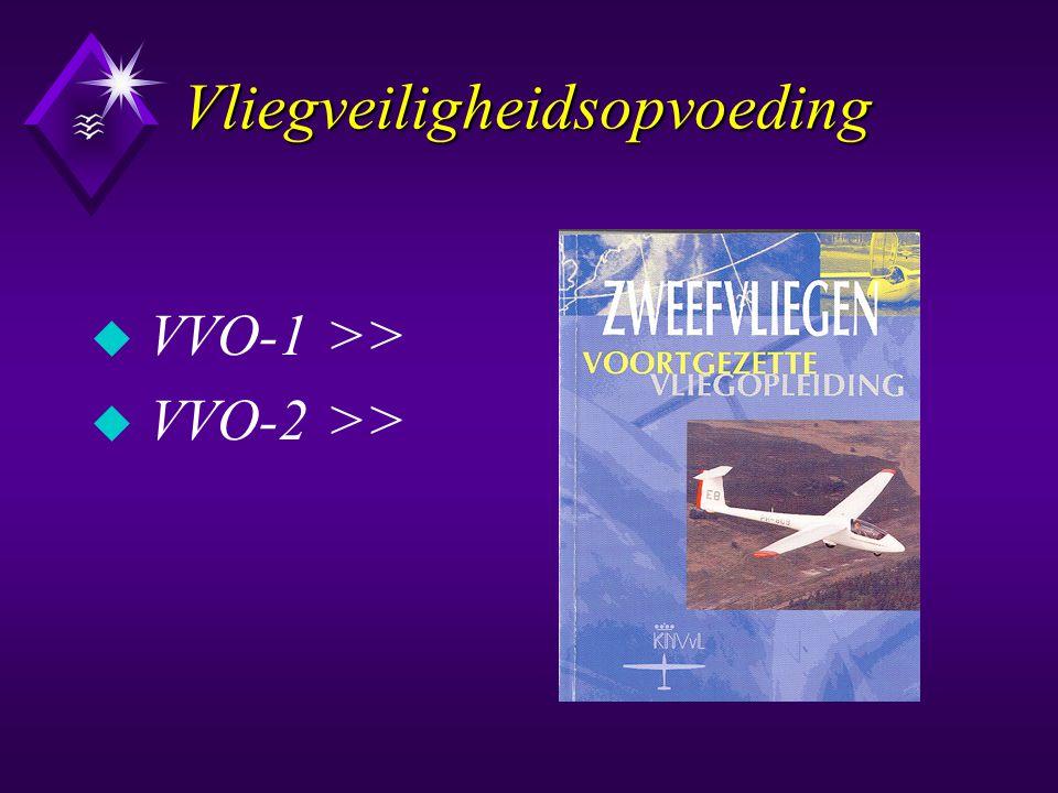 Vliegveiligheidsopvoeding u VVO-1 >> u VVO-2 >>