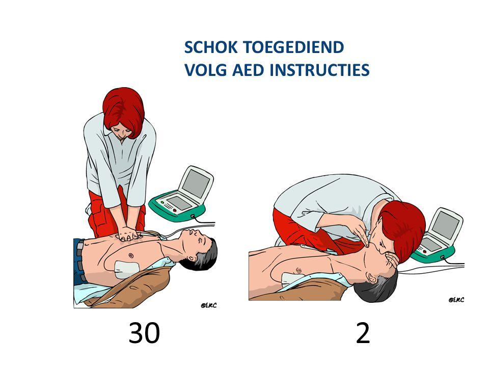 SCHOK TOEGEDIEND VOLG AED INSTRUCTIES 30 2