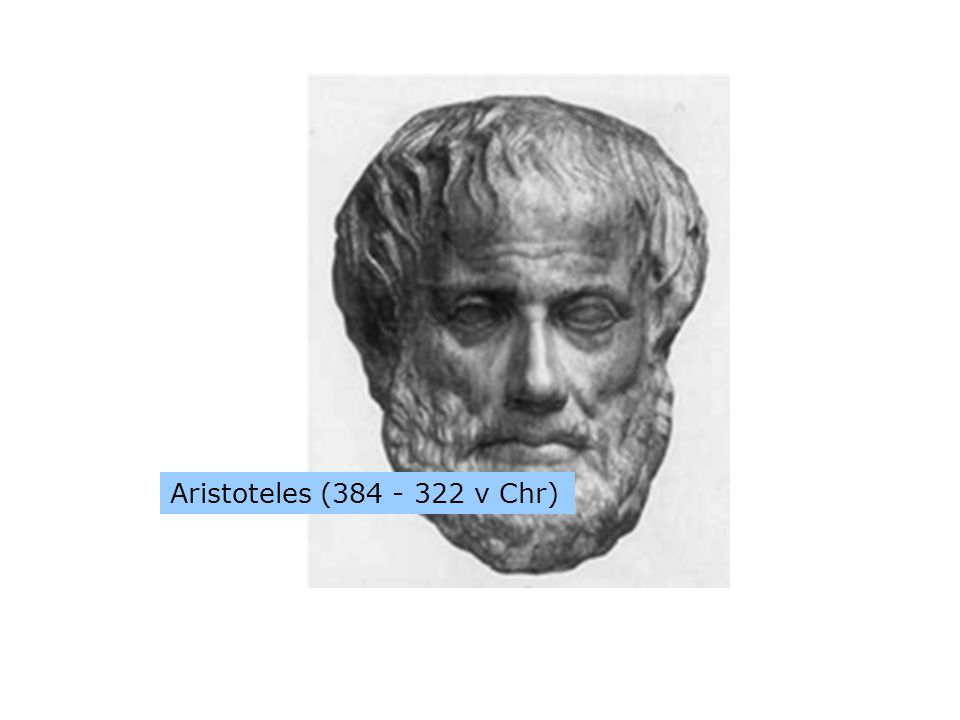 Aristoteles (384 - 322 v Chr)