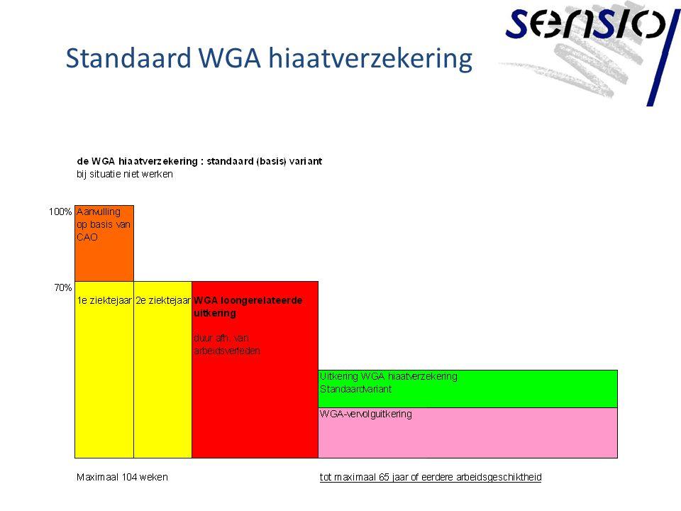 Standaard WGA hiaatverzekering