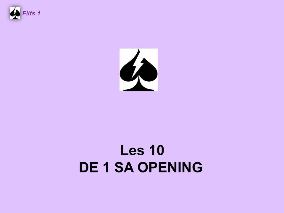Flits 1 Les 10 DE 1 SA OPENING