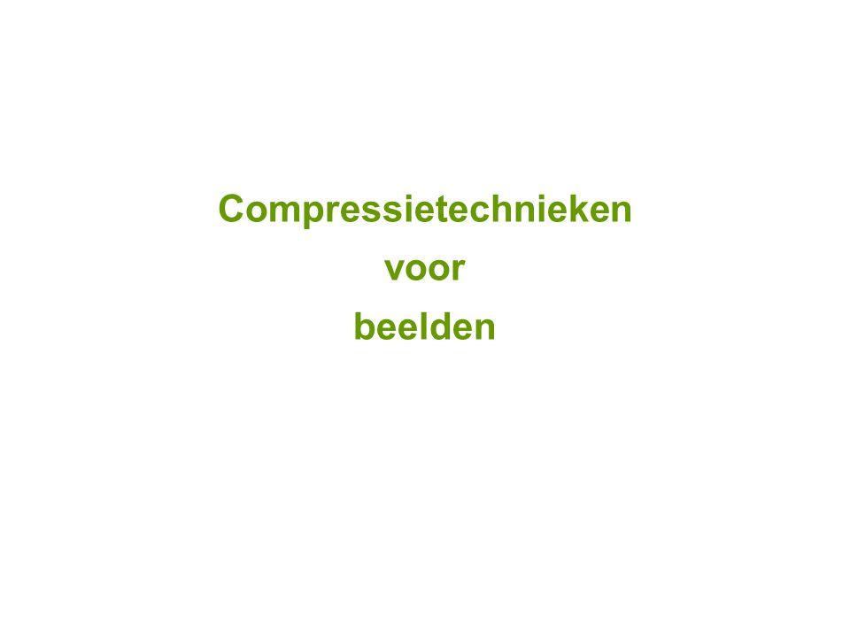 Compressietechnieken voor beelden