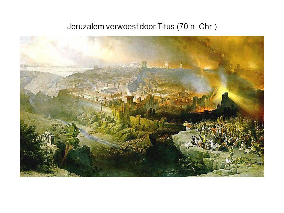 Jeruzalem verwoest door Titus (70 n. Chr.)