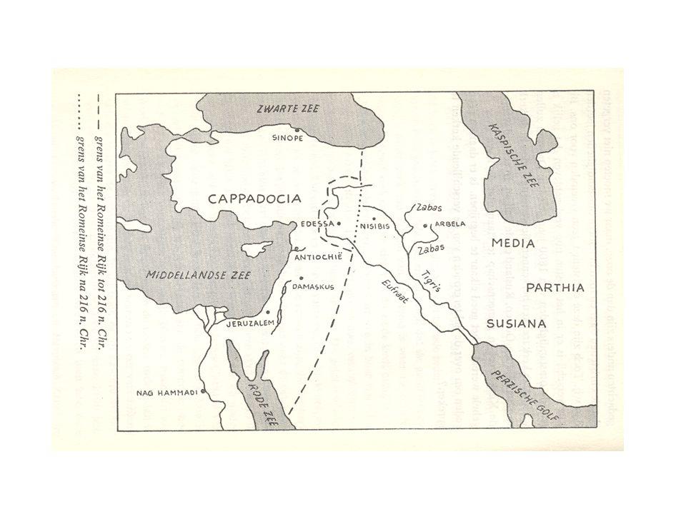 Edessa Nu onbekend Christendom staatsreligie onder Abgar (Abgarlegende) In Middeleeuwen highlight voor pelgrims O.a.