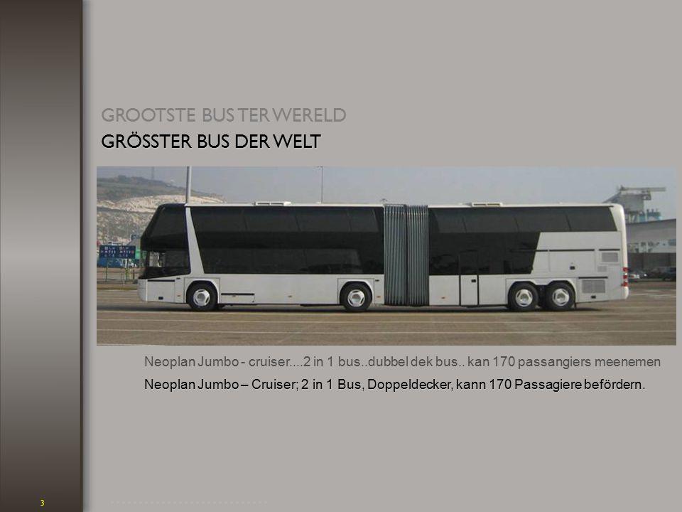 3 Neoplan Jumbo - cruiser....2 in 1 bus..dubbel dek bus..