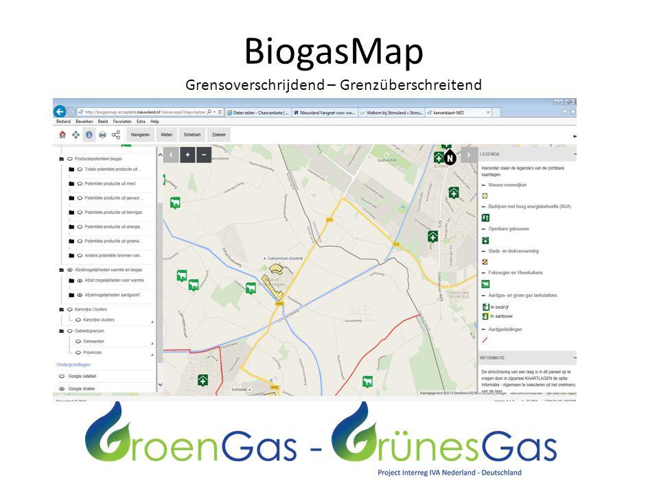 BiogasMap Grensoverschrijdend – Grenzüberschreitend