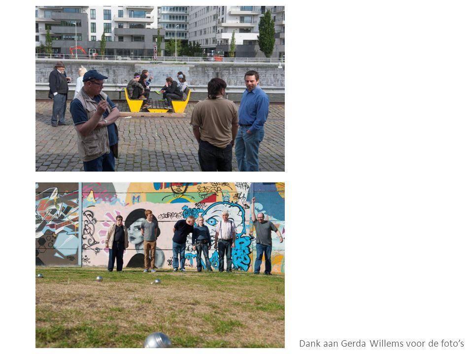Dank aan Gerda Willems voor de foto's