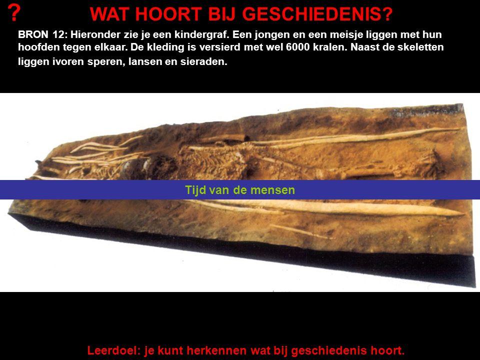 BRON 13: De vondst van deze schedel was groot nieuws in 2002.