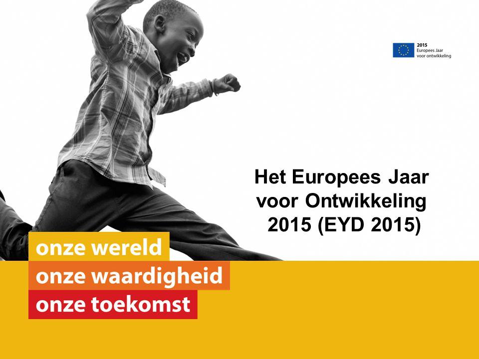 Het Europees Jaar voor Ontwikkeling 2015 (EYD 2015)