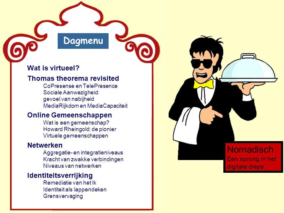Dagmenu Wat is virtueel.