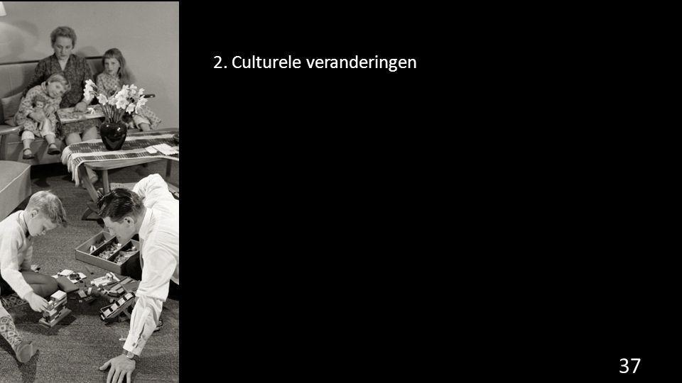 2. Culturele veranderingen 37