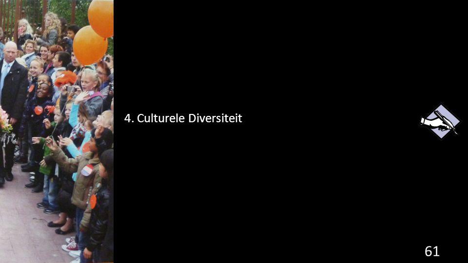 61 4. Culturele Diversiteit