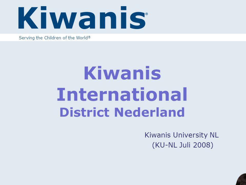 Wat is Kiwanis ?