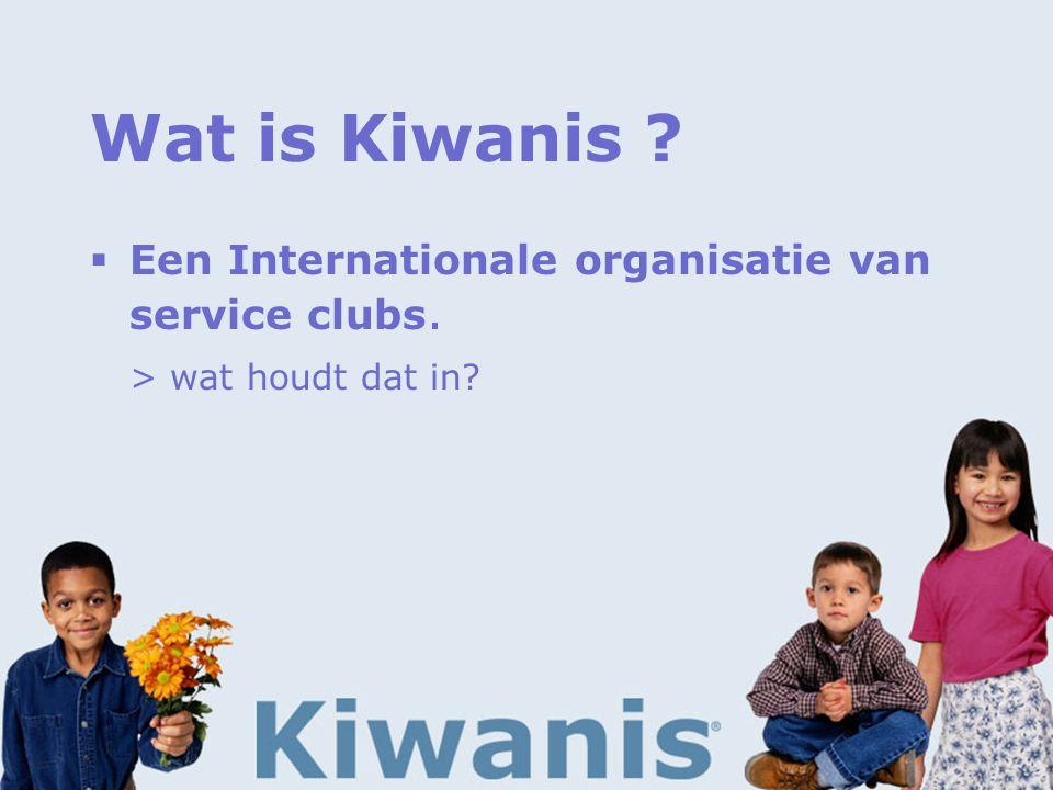 Wat is Kiwanis .