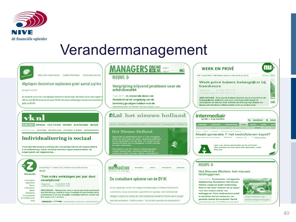 40 Verandermanagement