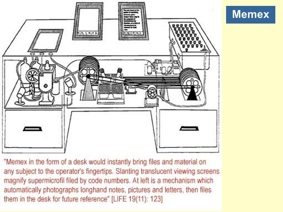 Denk aan een toekomstig instrument voor individueel gebruik dat een soort gemechaniseerde privébestand en bibliotheek is.