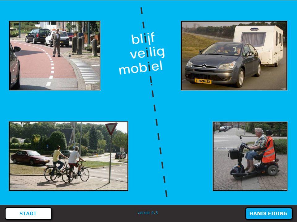 41 REGELS EN BORDEN - Verkeersregels Mogen de fietsers rechtdoor rijden? ANTWOORD MENU