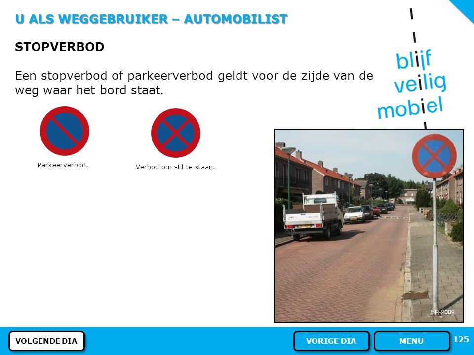 U ALS WEGGEBRUIKER – AUTOMOBILIST DE UITRIT Als u uit een uitrit komt moet u: al het andere verkeer voor laten gaan ook voetgangers! Een uitrit heeft