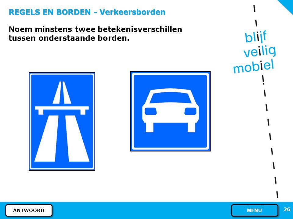 25 REGELS EN BORDEN - Verkeersborden Ja, dat mag. Het bord betekent: NIET VERPLICHT FIETSPAD. Op een onverplicht fietspad mogen óók fietsen met elektr