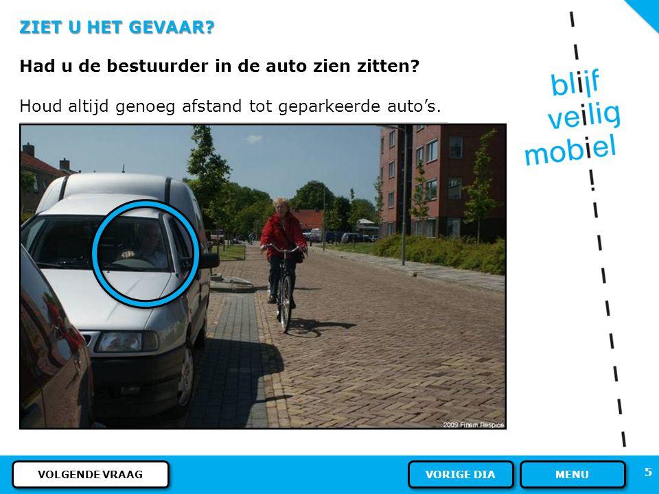 35 REGELS EN BORDEN - Verkeersregels Deze skater rijdt op het fietspad. Mag dat? ANTWOORD MENU