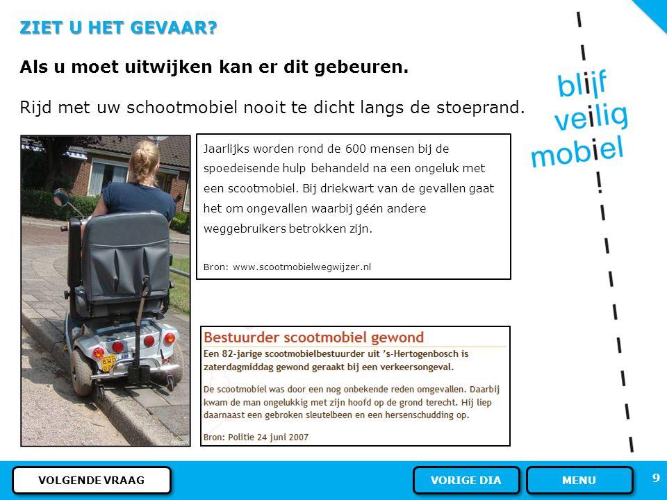 U ALS WEGGEBRUIKER - VOETGANGERS PLAATS OP DE WEG Als er geen voetpad of trottoir is, mogen voetgangers gebruik maken van het fietspad.
