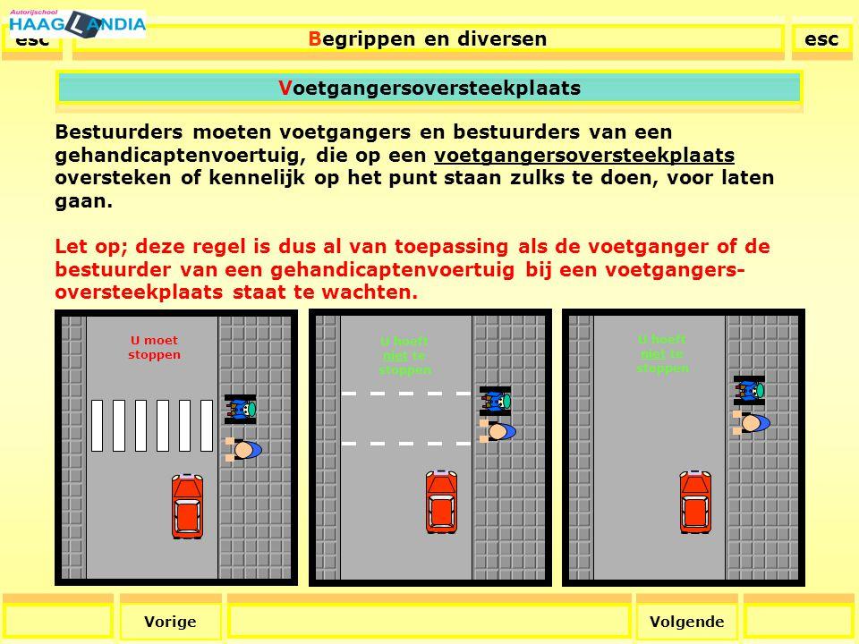 36 Als bestuurder moet u blinden, voorzien van een witte stok met één of meer rode ringen, en overigens alle personen die zich moeilijk voortbewegen, voor laten gaan.