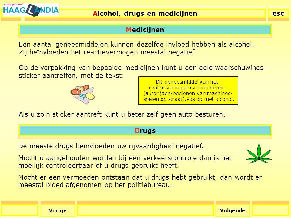 44 Alcohol Achter het stuur met alcohol op.