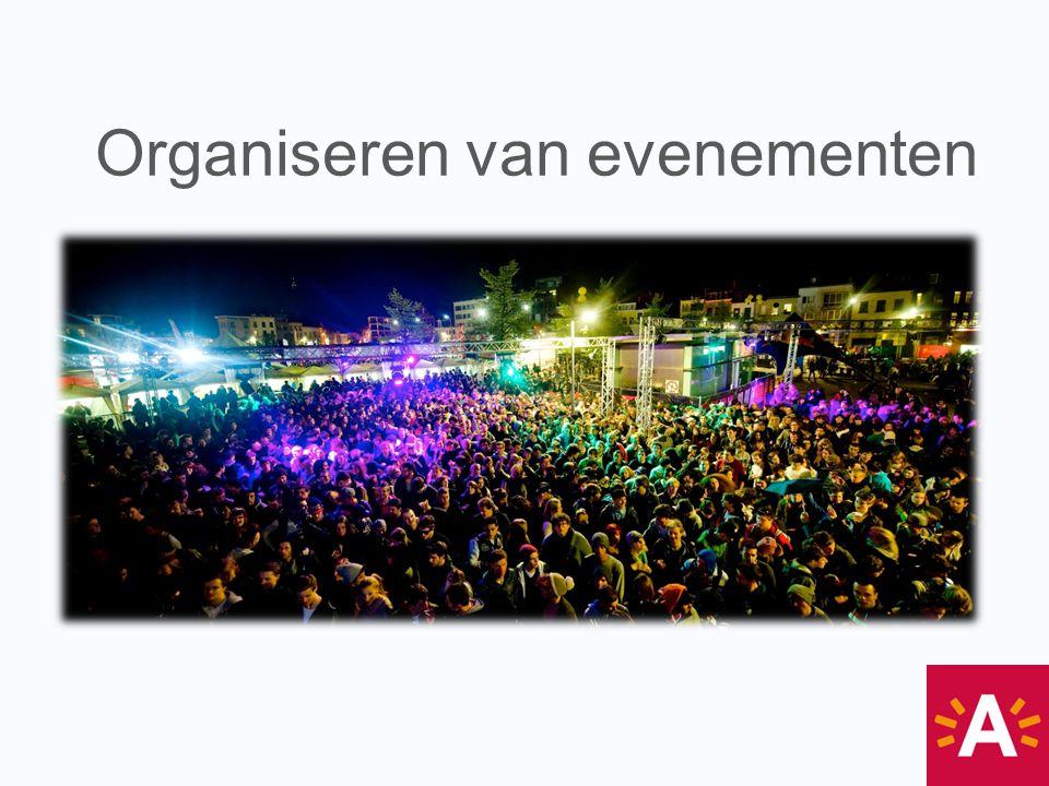 Organiseren van evenementen