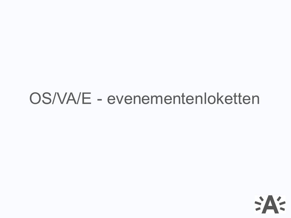 OS/VA/E - evenementenloketten