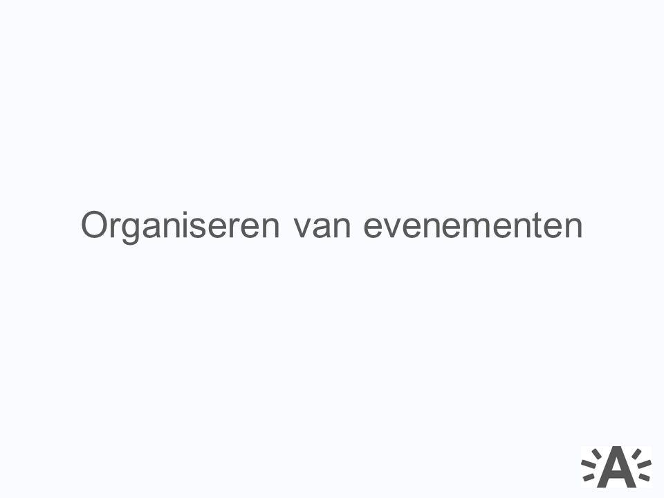 Leidraad bij de organisatie van evenementen: Workshop op maat; focus op openbaar domein Belangrijkste thema's / opleidingen evenementenmanagement www.antwerpen.be/evenementen 2.