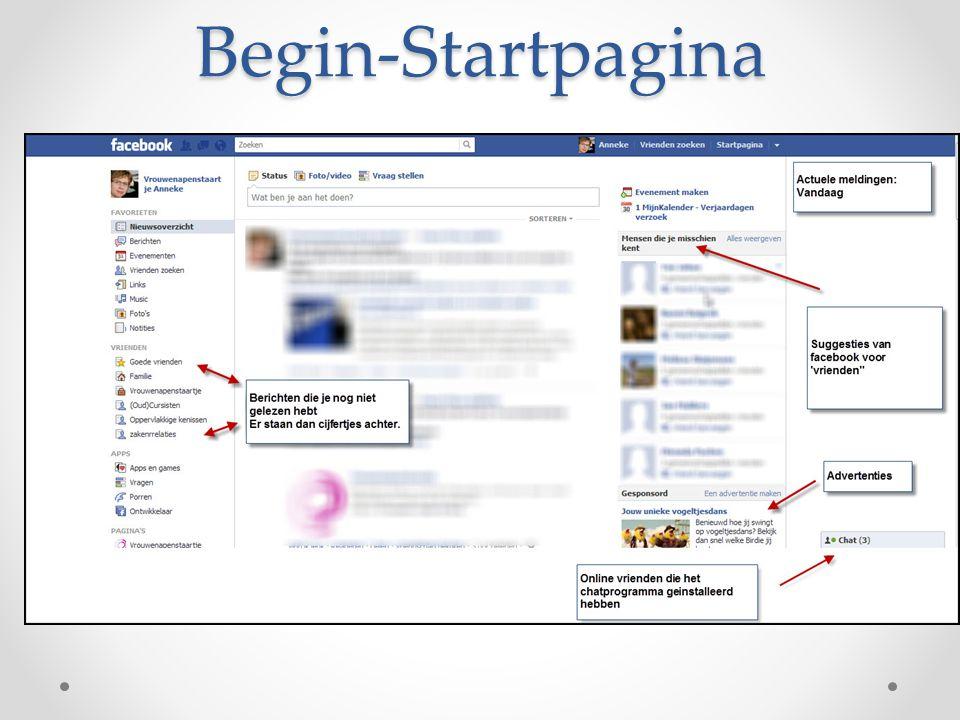 Begin-Startpagina