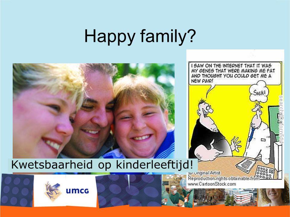 Happy family? Kwetsbaarheid op kinderleeftijd!