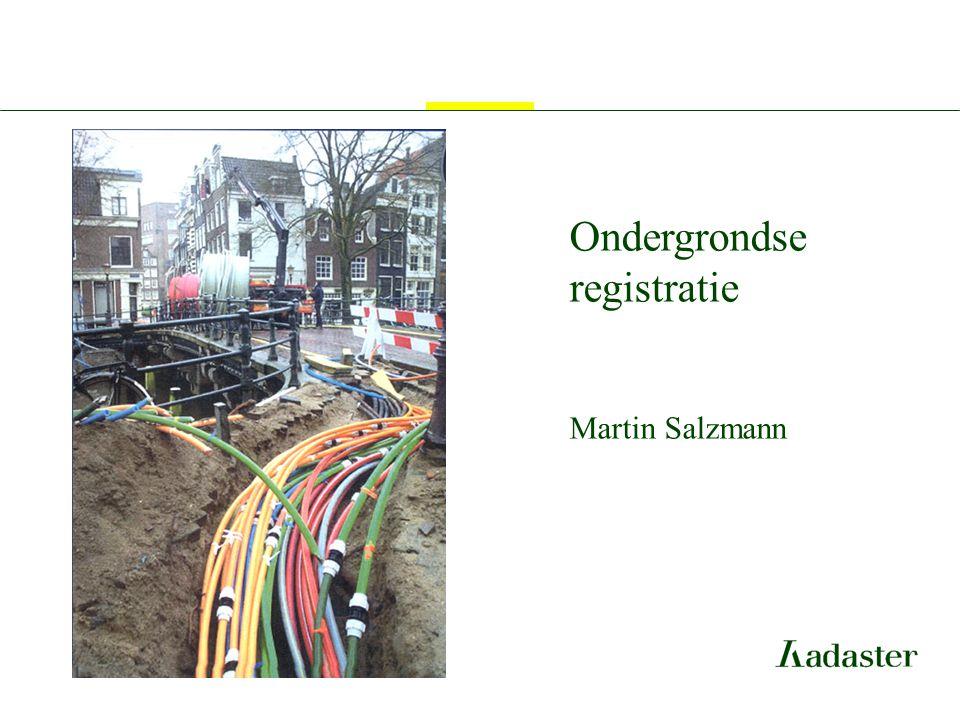 Ondergrondse registratie Martin Salzmann
