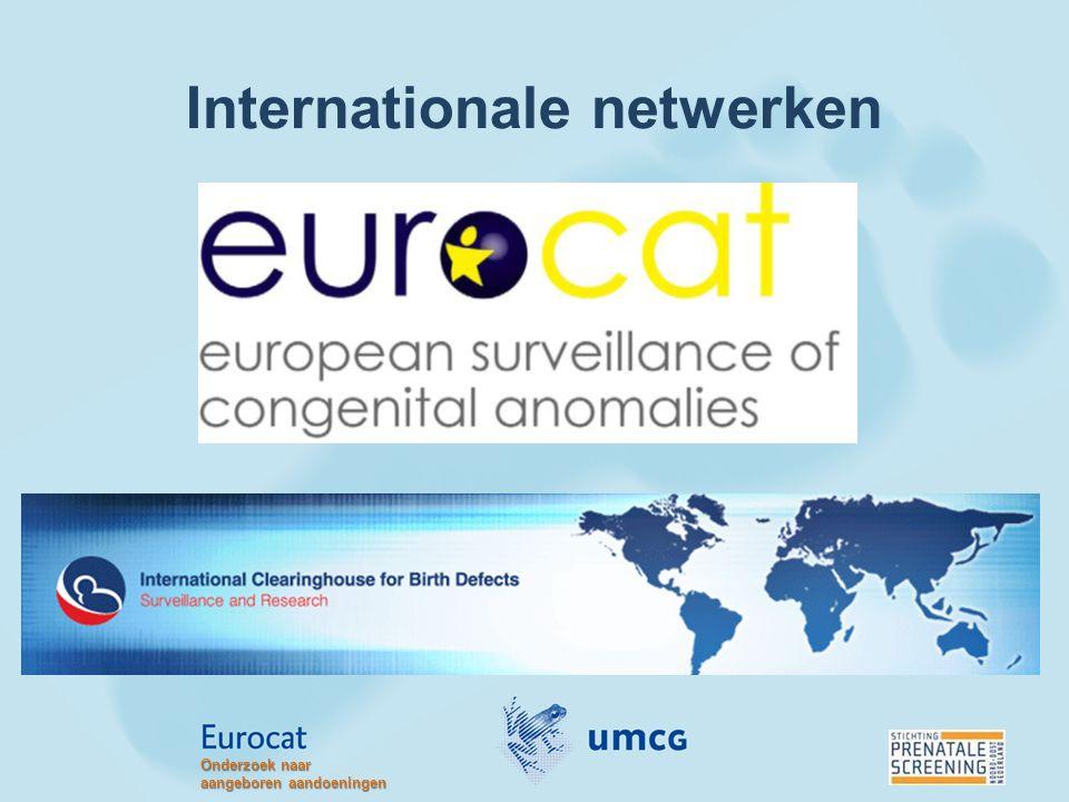 Internationale netwerken Onderzoek naar aangeboren aandoeningen