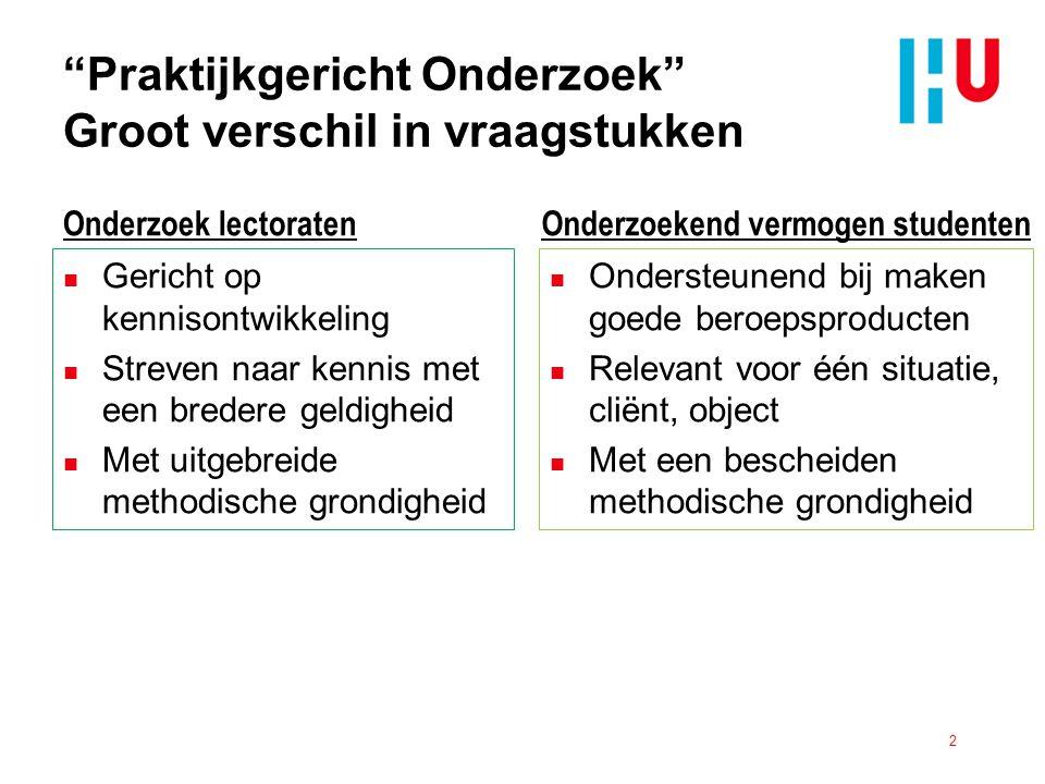 Bronnen n HBO Raad (2009) Kwaliteit als Opdracht, Den Haag, HBO Raad.