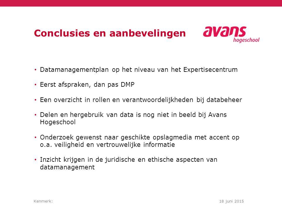 Kenmerk:18 juni 2015 Project: stand van zaken Wat: Afspraken om te komen tot een DMP op expertisecentrumniveau Onderzoeken van SURF Drive voor opslag van data gedurende het onderzoek Onderzoeken van Dutch Dataverse Network als Open Source opslagmedium voor onderzoeksdata tijdens en na het onderzoek Hoe: Samen met onderzoekers