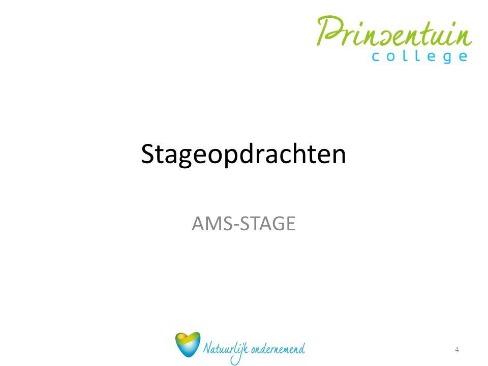 Stageopdrachten AMS-STAGE 4