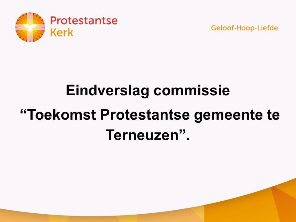 Eindverslag commissie Toekomst Protestantse gemeente te Terneuzen .