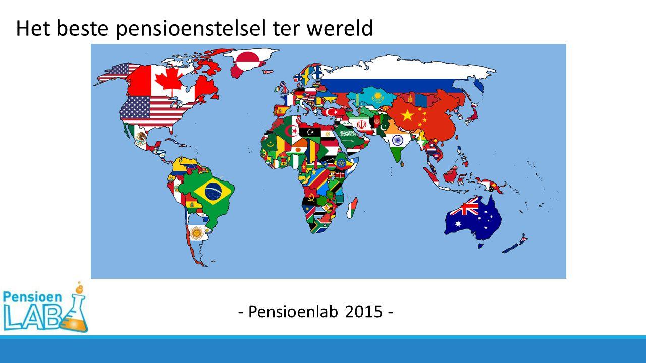 Het beste pensioenstelsel ter wereld - Pensioenlab 2015 -