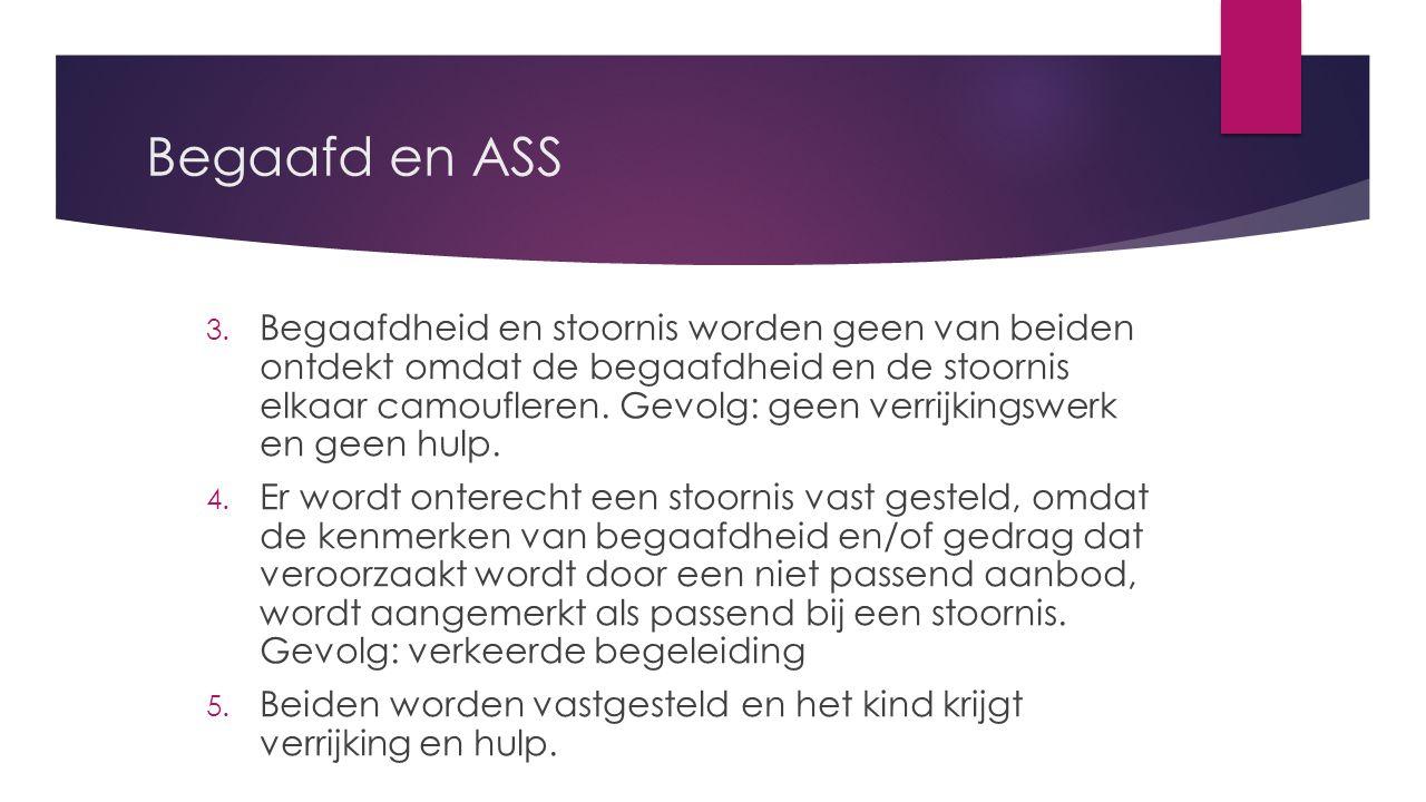 Begaafd en ASS 3.