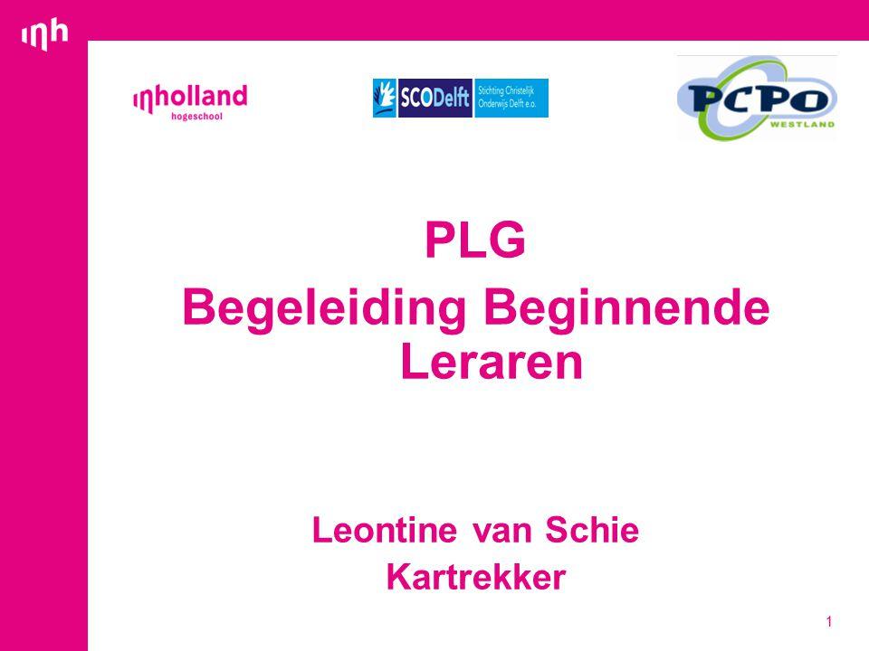 PLG Begeleiding Beginnende Leraren Leontine van Schie Kartrekker 1